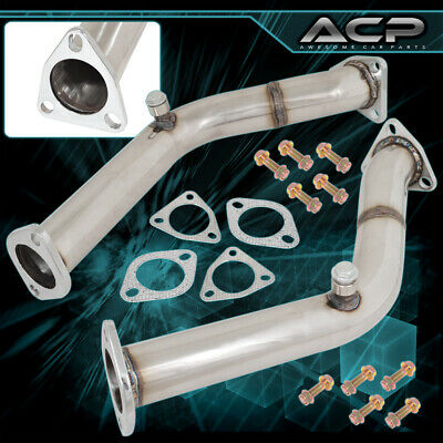 For Nissan 350Z Infiniti G35 Stainless Steel Exhaust Test Pipes Racing High Flow