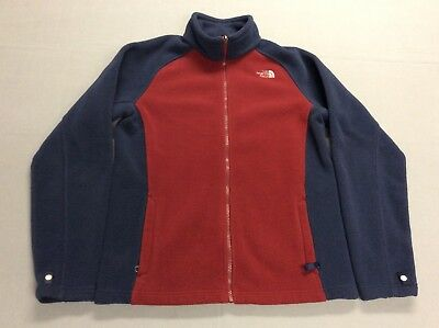 The North Face Outdoors Zip Up Fleece Jacket Boys Youth Kids Xl Or Womens Size