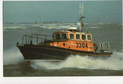 Bredo Class Relf Righting Lifeboat Postcard 483a