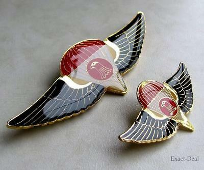 IRAQ Army - Iraqi Republican Guards - Special Forces - Pocket & Cap Badge Wings