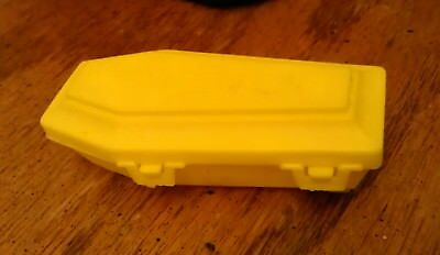 VTG Fleer Mr. Bones RARE Yellow Coffin Candy Container EX