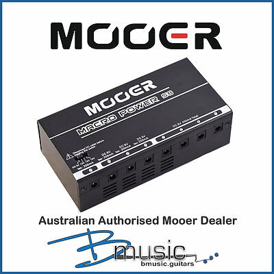 Brand NEW Mooer Macro Power S8 8 Outlet Isolated Power Supply -Authorised Dealer