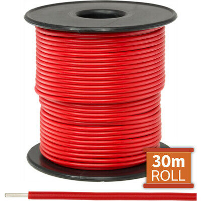 Doss 30M Red Hookup Wire/ Cable Sold As A Roll Of 30M