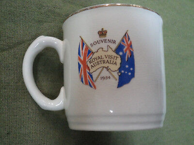 #yy,  1954  Queen Elizabeth Ii  Royal  Visit    Mug