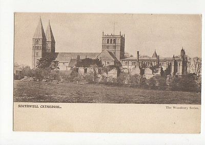 Southwell Cathedral Vintage Postcard 0817