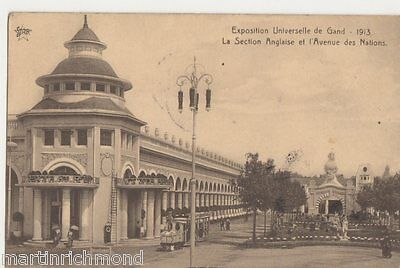 Exposition Universelle de Gand 1913, Section Anglais Postcard, B505