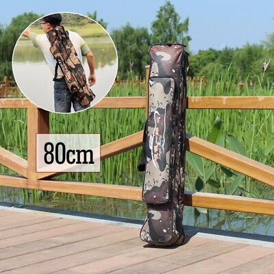 Portable Fishing Rod Reel Tackle Storage Tool Bag Case Organizer Holder Outdoor