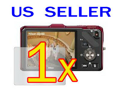 Nikon COOLPIX S9300 S9200 Digital Camera LCD Screen Protector Guard Shield Film