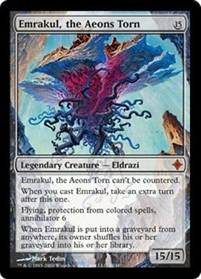 MTG - Emrakul, the Aeons Torn - NM - Rise of the Eldrazi - 7 lots available