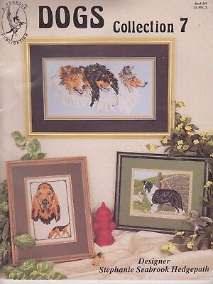 Dogs Collection 7 - 5 Cross Stitch Dog Designs