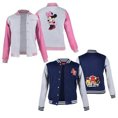 Children College Jacket Angry Birds and Minnie Mouse
