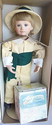 """Jan Hagara 15"""" doll TODD in Box #12 of only 85, Made in Texas"""