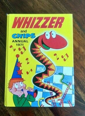 Whizzer and Chips Annual 1971 Good Condition Very Rare/Collectable (Free P&P)