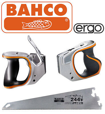 "BAHCO Ergo EX Right Or Left Handle Or EX-244P-22 Barracuda 22"" Wood Saw Blades"