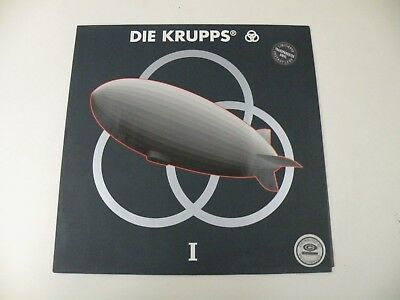Die Krupps - I - Lp Limited Edition Trasparent 1992 Our Choise - Mint-/ex- Ebm