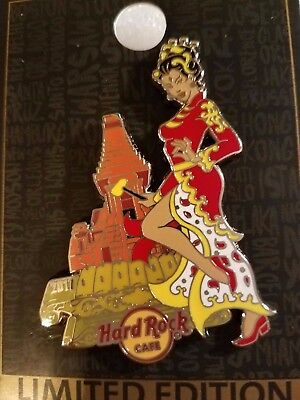 Hard Rock Cafe Pin ON-LINE INDONESIA Pin Up Girl Series LE  SOLD