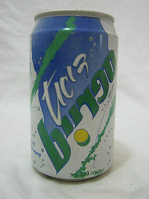 sprite diet:  a 330ml empty   can , israel 1996