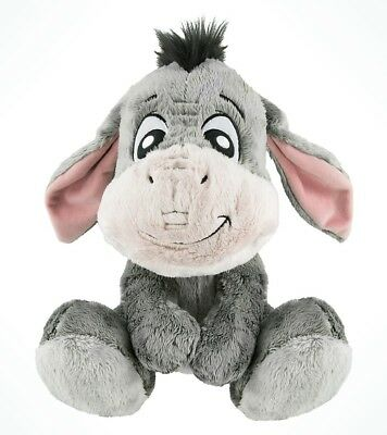 "Disney Parks Big Feet Eeyore From Winnie the Pooh 10"" Small Plush New"