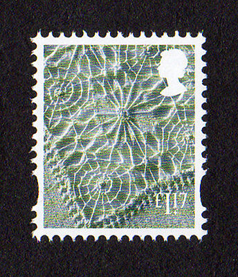 2017 Northern Ireland  £1.17 Linen Cartor Litho Regional Machin Def UMM