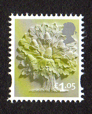 2016 England EN36 £1.05 Oak Tree Cartor Litho Regional Machin Definitive UMM