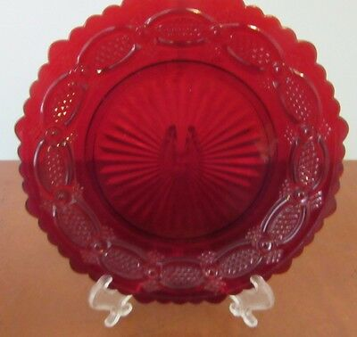 """Vintage Avon Cape Cod  7 1/4"""" Round Marked Salad Plate Very Good Condition Look"""