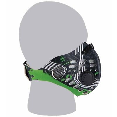 Arctic Cat ATV Neoprene Dust Air Filter Mask - Aircat Overdrive Green - 5258-07_