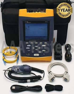 Fluke Networks OF-500 OptiFiber OFTM-5732 SM Fiber OTDR w/ FT-650 VFL OF500