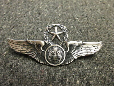 Wwii Us Army Air Force Senior Air Crew Wings-Silver Filled