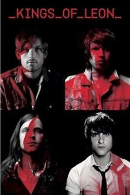 KINGS OF LEON ~ RED 24x36 MUSIC POSTER NEW/ROLLED!