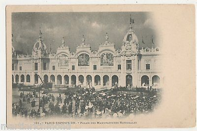 Paris Exposition, Palais des Manufactures Nationales Postcard, B547