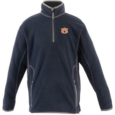 Antigua Youth Auburn Tigers Ice Long Sleeve Pullover