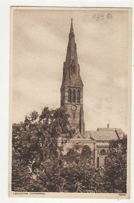 Leicester Cathedral Postcard 380a