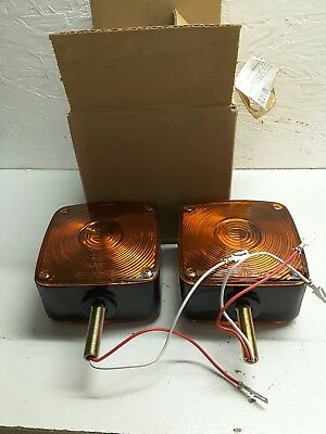 2/PACK Military Truck 24V Fender Light 764-21-932 6220-01-325-9822 P/N: AT116202
