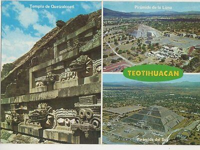 Teotihuacan Mexico Postcard 079a