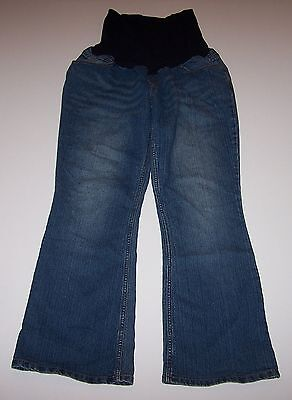 Ladies MOTHERHOOD Brand Stretch Maternity Jeans Size Petite Large PL