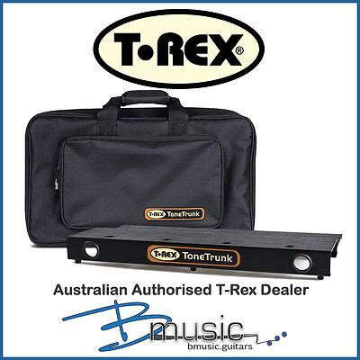 Brand NEW T-Rex Tone Trunk 56 Pedal Board and Bag -- Authorised T-Rex Dealer