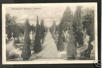 FTT Early Postcard, Tomnahurich Cemetary, Inverness