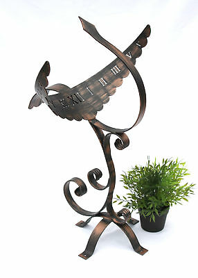 Sundial Phoenix 935558 made from metal Garden decoration
