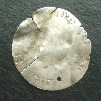 Coin : GB British Hammered Silver Coin : Approx 24mm and 1.18g