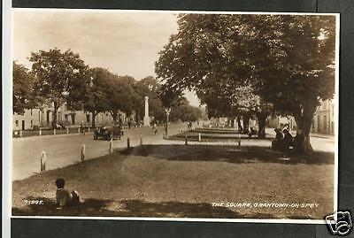 GDL Early Postcard, The Square, Grantown-on-Spey, Moray