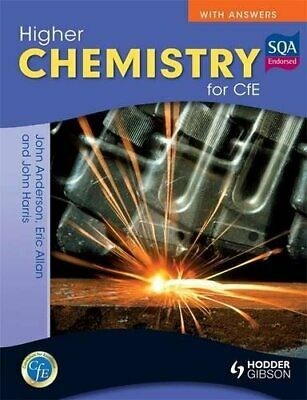 Higher Chemistry for CfE with Answers by Anderson, John Book The Cheap Fast Free