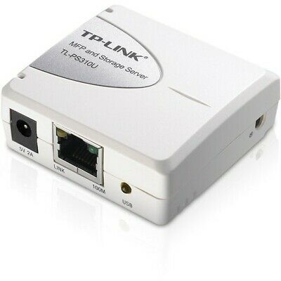 Tp-Link Single Usb2.0 Print & Storage Server Port Mfp Tlps310U