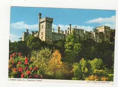 Lismore Castle Co Waterford Ireland 1971 Postcard 886a