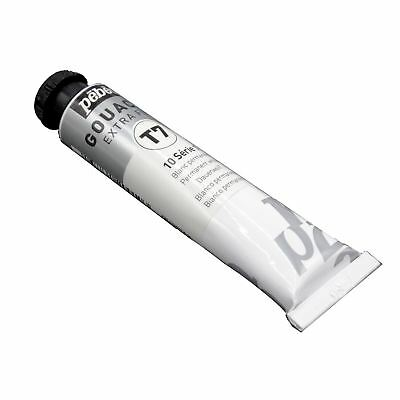 Gouache 20ml tube permanent white paint Pebeo artists
