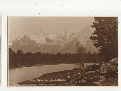 Beinn Eighe From Loch Coulin Vintage RP Postcard 711a