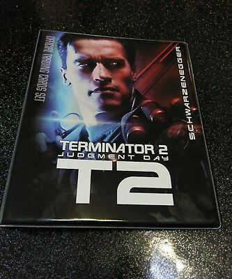 Terminator 2 T2 Binder Folder For Trading Cards Unstoppable Cards