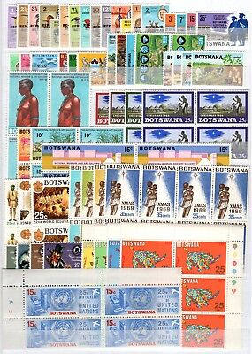 Aa36901/ Botswana - 1966 / 1998 Collection Neuve / Mint 408 €