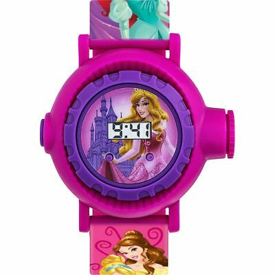 Official Licensed Disney Princesses Projection Rubber Strap Digital Watch