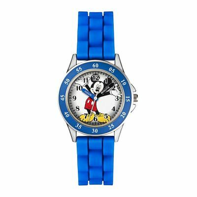 Official Licensed Disney Mickey Mouse Character Rubber Strap Analogue Watch