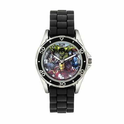 Official Licensed Marvel Avengers Superheroes Rubber Strap Analogue Watch